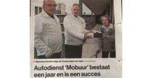 Autodienst 'Mobuur' bestaat een jaar en is een succes
