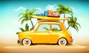 Op vakantie met uw leaseauto